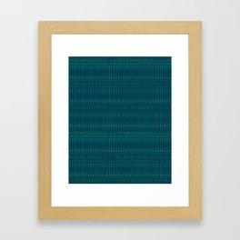 Pattern Design #001 Framed Art Print