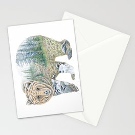Spirit of the Grizzly Stationery Cards