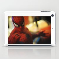 spider man iPad Cases featuring spider-man  by caporilli