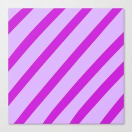 Royal Stripes Canvas Print