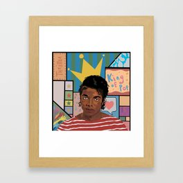 Dear MJ, i am Framed Art Print