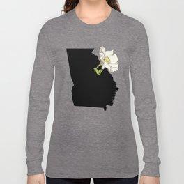 Georgia Silhouette Long Sleeve T-shirt