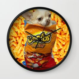 Cheeto Chihauhau Wall Clock