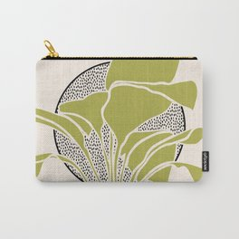 Peace Lily Plant And Sun Carry-All Pouch