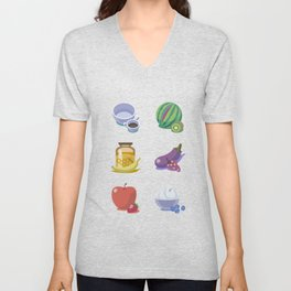The Sweet Size Difference Unisex V-Neck