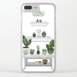 Garden Pyramid Clear iPhone Case