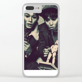 Demon Chen & Suho Clear iPhone Case