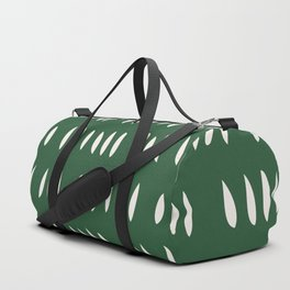 MATISSE ABSTRACT CUTOUTS . FOREST WHITE Duffle Bag