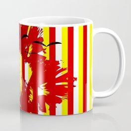 Abstract colorful striped Coffee Mug