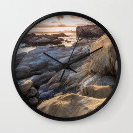 Point Lobos II Wall Clock
