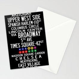 NYC Salsa Stationery Cards