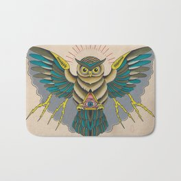 Owluminati Bath Mat