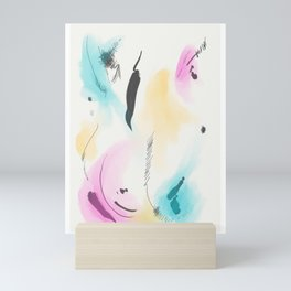 Abstract sunrise S4 Mini Art Print