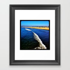 Beach. Framed Art Print