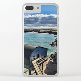 Padstow Lifeboat Station 2 Clear iPhone Case