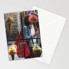 Ice Cream Obsessions , Florence, Italy Stationery Cards