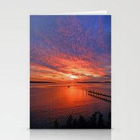 maryland Stationery Cards featuring What Maryland Does Best by Kelsey Hunt