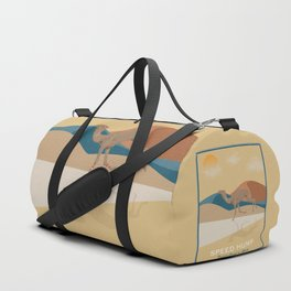 Speed Hump - Fastest Camel in Africa Duffle Bag