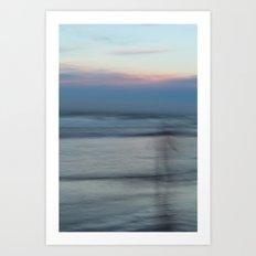 The Sea Sings My Name Art Print