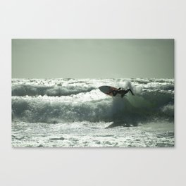 Surf Atlantica  Canvas Print