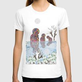 a winter night  T-shirt