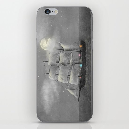 Ghost Ship  iPhone & iPod Skin