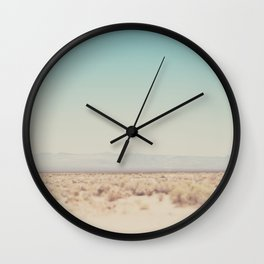 in the middle of the desert ... Wall Clock