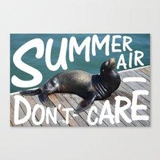 Summer Air Canvas Print