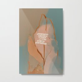 You Are Beautiful. Metal Print