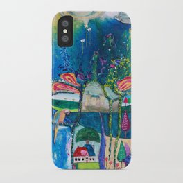 Traveling Into Infinity iPhone Case