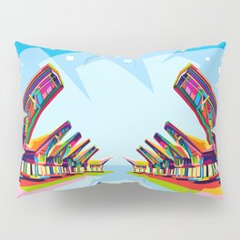 Toraja Land In Pop Art Pillow Sham
