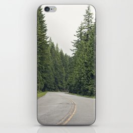lonely road. iPhone Skin