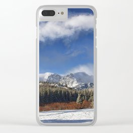 Rocky Mountain Park  by Lena Owens Clear iPhone Case