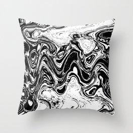 wave crook Throw Pillow
