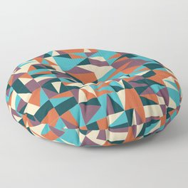 Abstract Triangle Pattern Floor Pillow