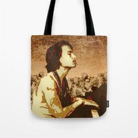 johnny depp Tote Bags featuring Johnny Depp by victorygarlic - Niki