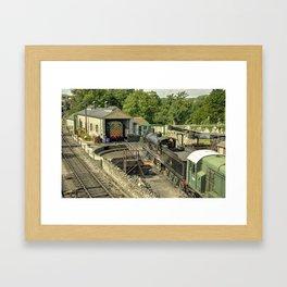Swanage MPD  Framed Art Print