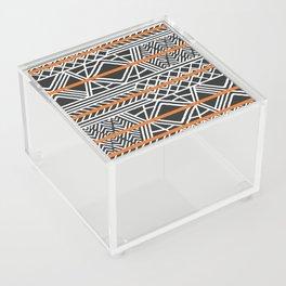 Tribal ethnic geometric pattern 022 Acrylic Box