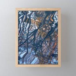 floating trees 2 Framed Mini Art Print