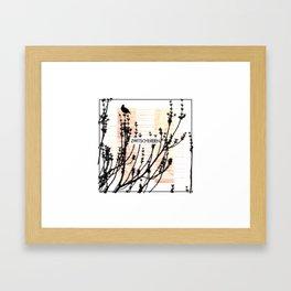 Zwitschereien Framed Art Print