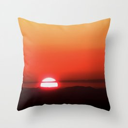 It is gone Throw Pillow