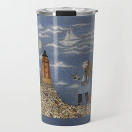 Ship in the Sky Travel Mug