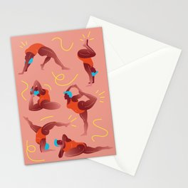 Yoga Stationery Cards
