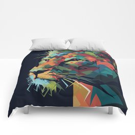 Lion Queen Comforters