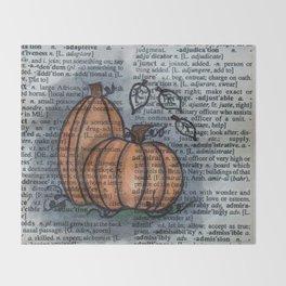 Pumpkin Pals Throw Blanket