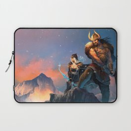 League of Legends-Tryndamere and Ashe Laptop Sleeve