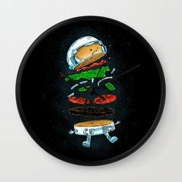 The Astronaut Burger Wall Clock