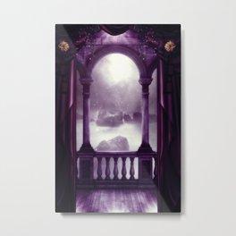 Fantasy balcony Metal Print