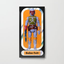 Boba Fett Beach Towel : Smaller Metal Print