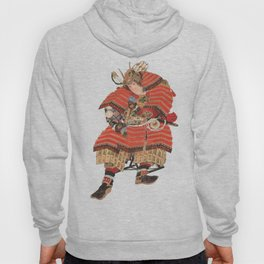 Samurai Warrior Vintage Japanese Art Hoody